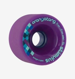 Orangatang Longboard Wheels Stimulus Purple 70mm 83A
