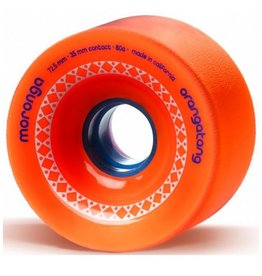 Orangatang Longboard Wheels Moronga Orange 72.5mm 35mm 83a