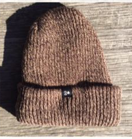 Low Card Beanie Light Brown