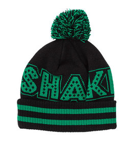 Shake Junt Mainline Ball Beanie BLACK/GREEN