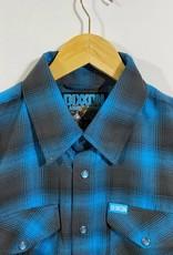 Dixxon Pacifica Flannel Blue/Black