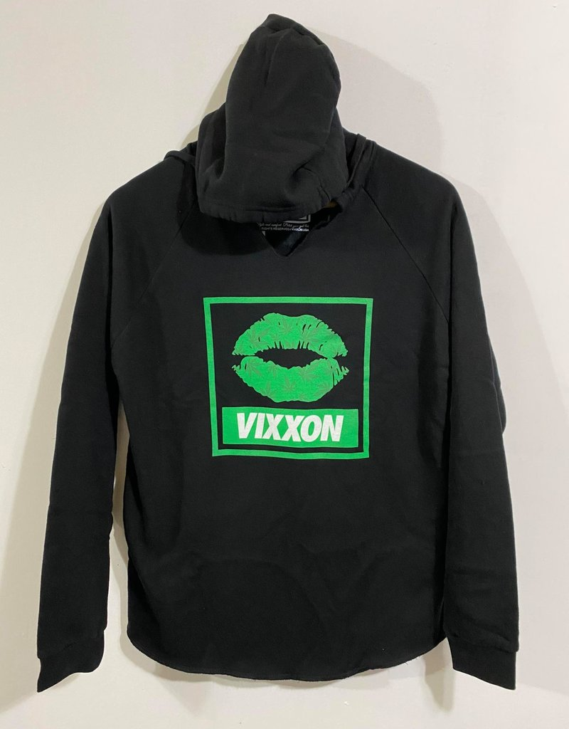 Dixxon Womens Vixxon Spliff Queen Hoodie Black
