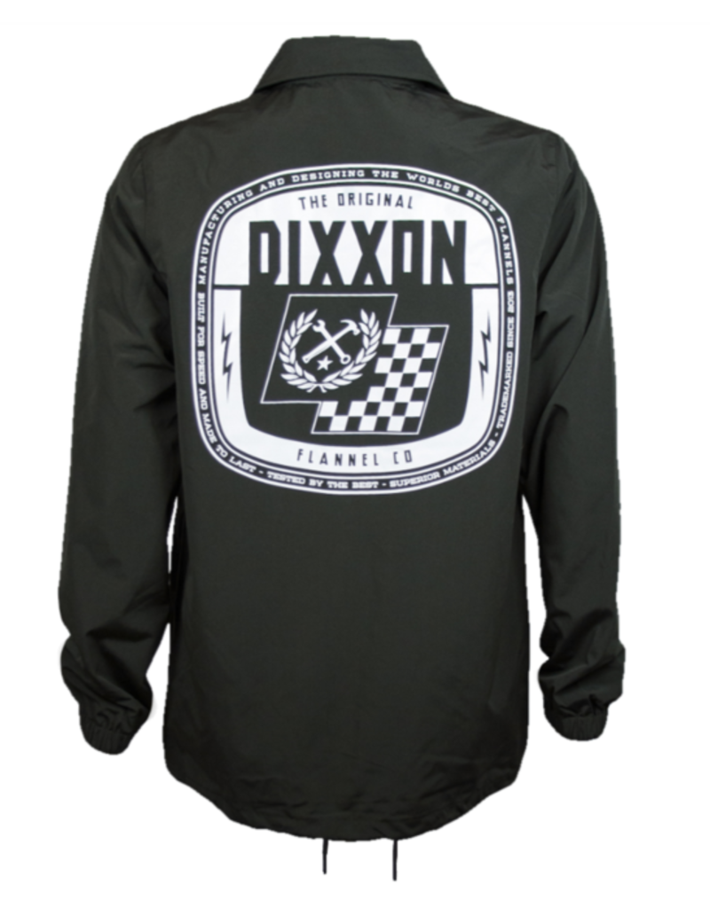 Dixxon Speed Coaches Jacket OD Green