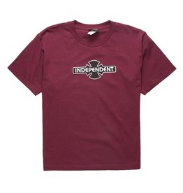 Independent Youth Tee O.G.B.C. Burgundy