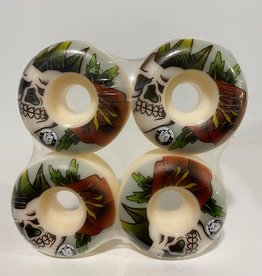 Thought Crimes MFG Mohawk Skull Wheels 52mm 101a