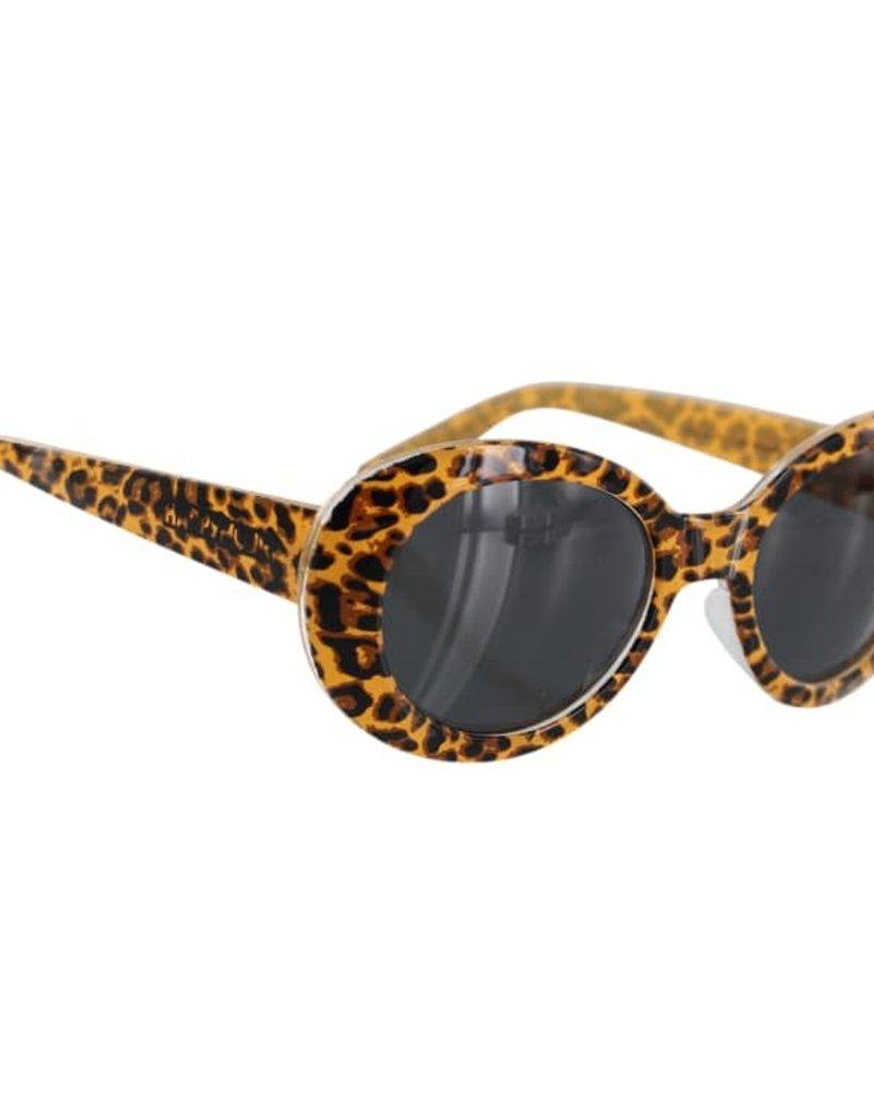 Happy Hour Beach Party Delfino Leopard Sunglasses