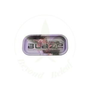 """BLAZE BLAZE METAL ROLLING TRAY - 8"""" x 4"""
