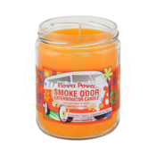 SMOKE ODOR SMOKE ODOR 13oz JAR CANDLE - FLOWER POWER