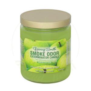 SMOKE ODOR SMOKE ODOR 13oz JAR CANDLE - GRANNY SMITH