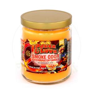 SMOKE ODOR SMOKE ODOR 13oz JAR CANDLE - PEACE & LOVE