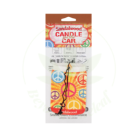 SMOKE ODOR SMOKE ODOR CAR HANGER - SANDALWOOD