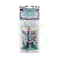 SMOKE ODOR SMOKE ODOR CAR HANGER - SUGAR SKULL