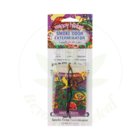 SMOKE ODOR SMOKE ODOR CAR HANGER - TRIPPY HIPPIE