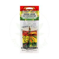 SMOKE ODOR SMOKE ODOR CAR HANGER - RASTA LOVE