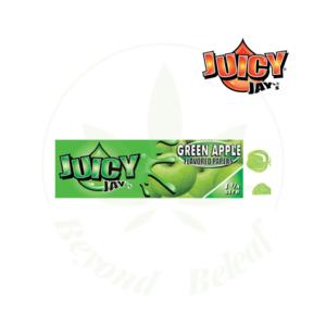 "JUICY JAY'S JUICY JAY'S 1.25"" PAPERS GREEN APPLE"