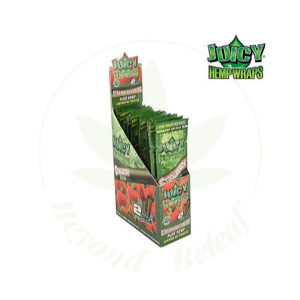 JUICY JAY'S JUICY JAY'S HEMP WRAPS STRAWBERRY