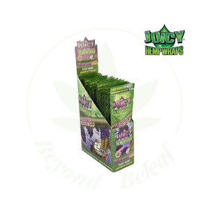JUICY JAY'S JUICY JAY'S HEMP WRAPS GRAPES GONE WILD