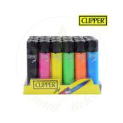 CLIPPER CLIPPER PLASTIC JET FLAME - ASSORTED TRANSPARENT COLOUR