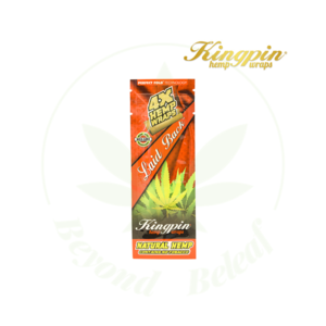 KINGPIN KINGPIN HEMP WRAPS 4 PACK LAID BACK