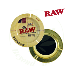 RAW RAW MAGNETIC METAL ASHTRAY