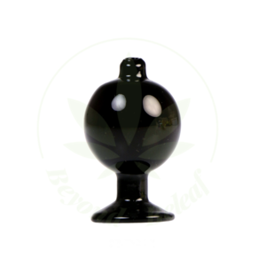 HYDROS HYDROS GLASS BUBBLE CAP (HY-CAP2-BLK)