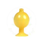 HYDROS HYDROS GLASS BUBBLE CAP (HY-CAP2-YEL)