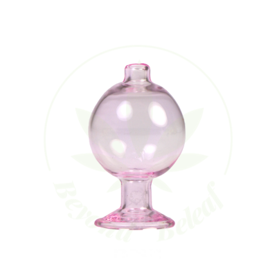 HYDROS HYDROS GLASS BUBBLE CAP (HY-CAP2-PNK)