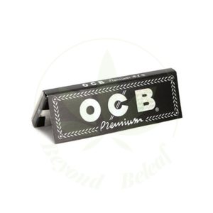 "OCB OCB BLACK PREMIUM PAPERS 1.25"" - 50 PER PACK"