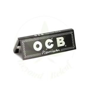 """OCB OCB BLACK PREMIUM PAPERS 1.25"""" - 50 PER PACK"""