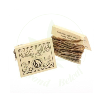BEE LINE BEE LINE 9' HEMP WICK - THICK