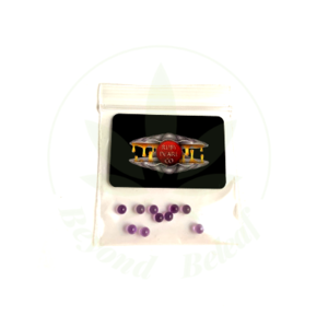 RUBY PEARL CO PURPLE SAPPHIRE TERP PEARLS - 3mm- PACK OF 10