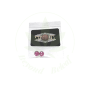 RUBY PEARL CO PINK RUBY TERP PEARLS - 6MM-PACK OF 2