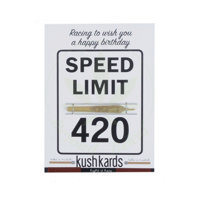 KUSH KARD KUSHKARDS GREETING CARD 420 BIRTHDAY