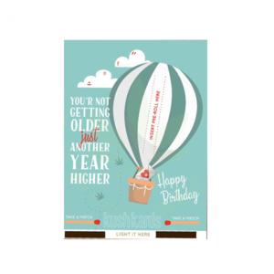 KUSH KARD KUSHKARDS GREETING CARD ANOTHER YEAR HIGHER