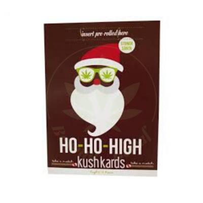 KUSH KARD KUSHKARDS GREETING CARD HO HO HIGH