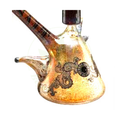 SALT GLASS SALT GLASS SAND MINI BEAKER DAB RIG