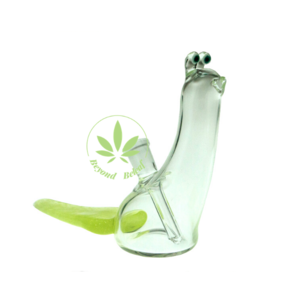"BROWSKI GLASS BROWSKI 5"" GLASS SLUG W/ TRAIL 10mm"