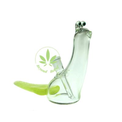 """BROWSKI GLASS BROWSKI 5"""" GLASS SLUG W/ TRAIL 10mm"""