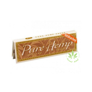 "PURE HEMP PURE HEMP UNBLEACHED 1.25"" ROLLING PAPERS - 50 PACK"