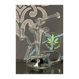 JACK BLEW GLASS JACK BLEW GLASS CORNERCYCLER (JET BLACK)
