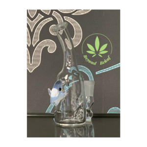 KAHUNA GLASS KAHUNA GLASS CLEAR MINITUBE W/ BABY SCALIEN (KGA7)