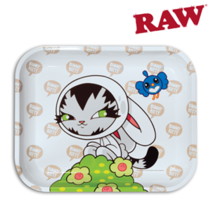 "RAW RAW 14"" x 11"" LARGE ROLLING TRAY (PERSUE)"