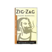 ZIG-ZAG ZIG-ZAG SILVER ROLLING PAPERS (100 PAPERS)