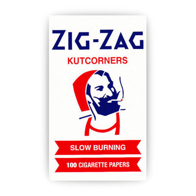 ZIG-ZAG ZIG-ZAG WHITE ROLLING PAPERS (100 PAPERS)