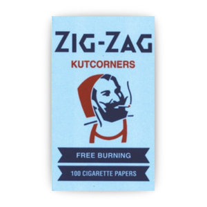 ZIG-ZAG ZIG-ZAG BLUE ROLLING PAPERS (100 PAPERS)