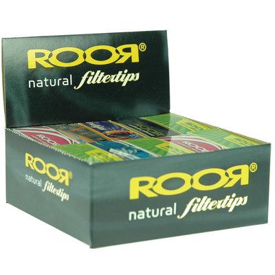 ROOR ROOR NATURAL FILTER TIPS - 33 TIPS PER PACK