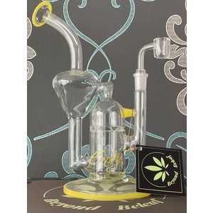 "ENVY GLASS ENVY GLASS 10"" TURBINE RECYCLER (YELLOW)"