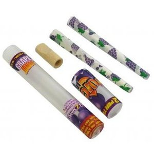 JUICY JAY'S JUICY JAY'S GRAPE HEMP CONES - PACK OF 2