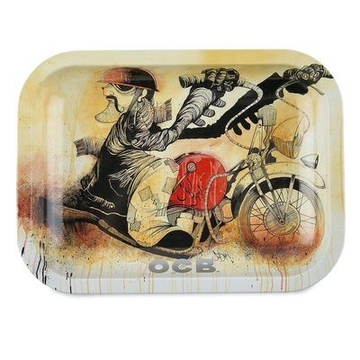 """OCB OCB ROLLING TRAY GIFT PACK W/ 1.25"""" PAPERS"""