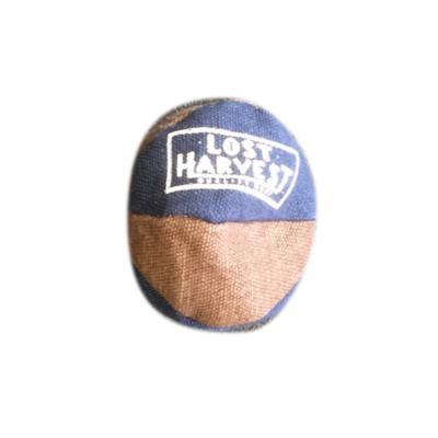 LOST HARVEST LOST HARVEST HEMP FOOT BAG - BLUE